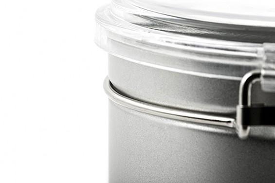 Boîte métal ronde
