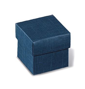 Boîte bleu couvercle amouvible