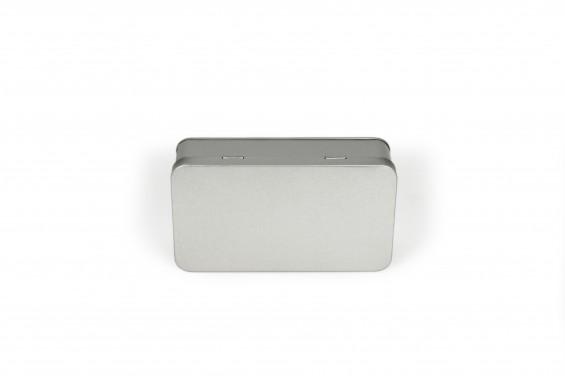 Emballage de métal rectangulaire