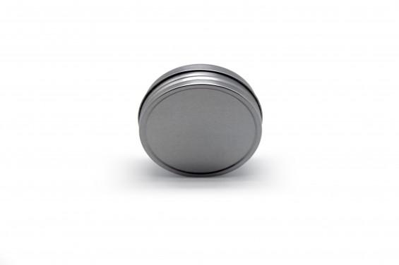 Emballage métal rond bas