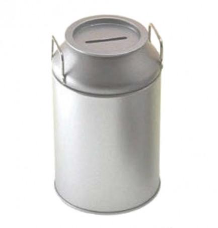 Tirelire métal
