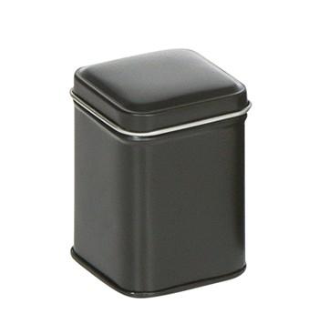 Emballage carré noir S