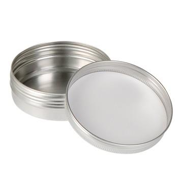 Boîte ronde en aluminium