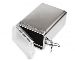 Boîte métal couvercle hermétique
