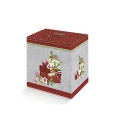 Boîte de carton décoré