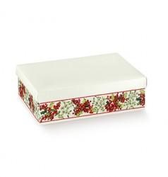 Boîte de carton blanche