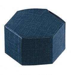 Boîte de carton hexagonal