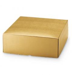 Emballage de carton en or