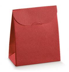 Emballage de carton rouge