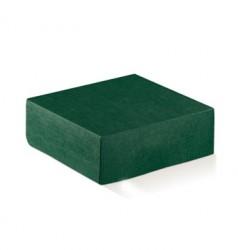 Emballage de carton verte