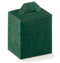Boîte verte avec fermeture