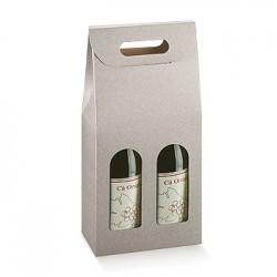Boîte pour deux bouteilles