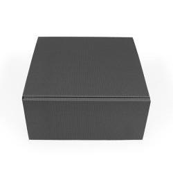 Emballage carton ondulé noir
