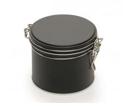 Boîte en métal noir