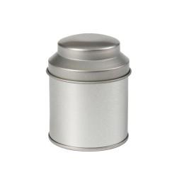 Pot de métal rond