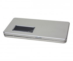 boîte de métal enveloppe