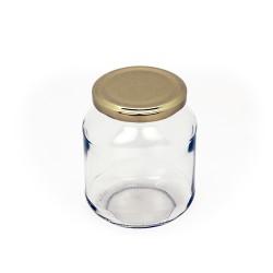 Bocal de verre ovale