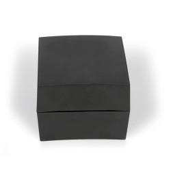 Boîte de plastique noir