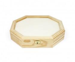 Boîte de bois