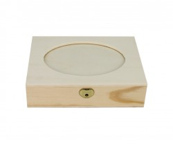 Boîte avec coupe ovale