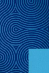 Papier d'emballage bleu
