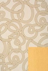 Papier d'emballage en couleurs de jaune