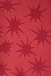 Papier d'emballage avec motif rouge